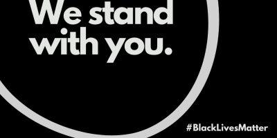 Black and White Black Lives Matter Instagram Post